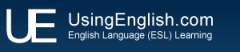 Using English Logo